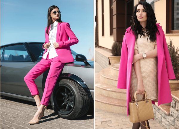 Fall 2018 Pink Outfits
