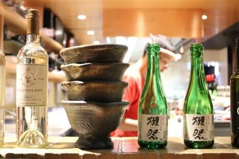 Sake in Bottle