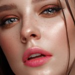 Close up Woman