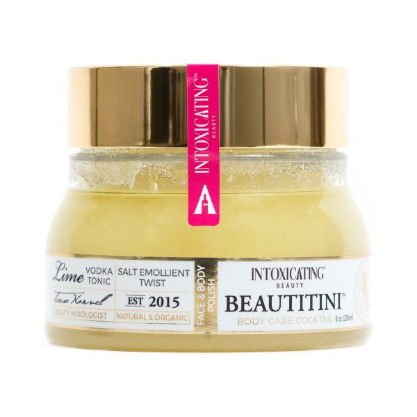 Intoxicating Beauty Beautitini Salt Emollient Twist.