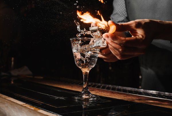 Fire on Cocktail