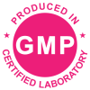 Produced in Certified Laboratory - GMP Seal