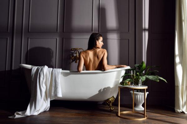 Woman in Tub