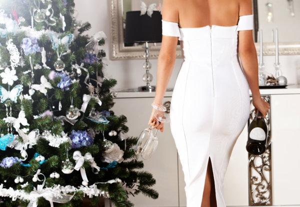 White Dress Holiday