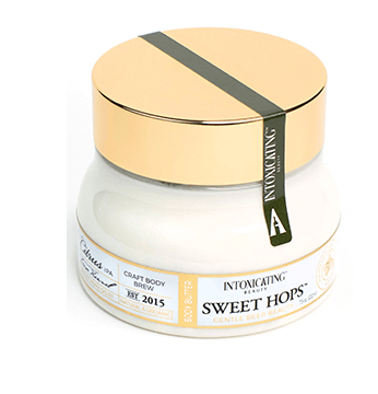 Intoxicating Beauty Sweet Hops Body Butter for dry skin.
