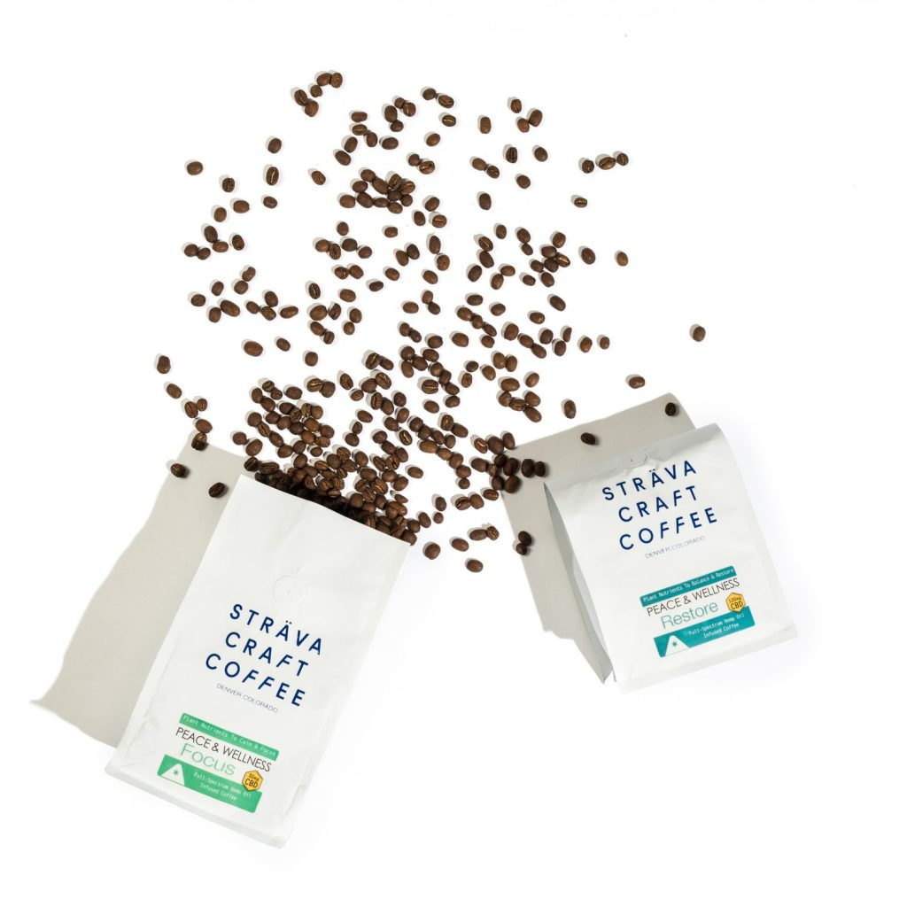 CBD Coffee product by Fleur Marché.