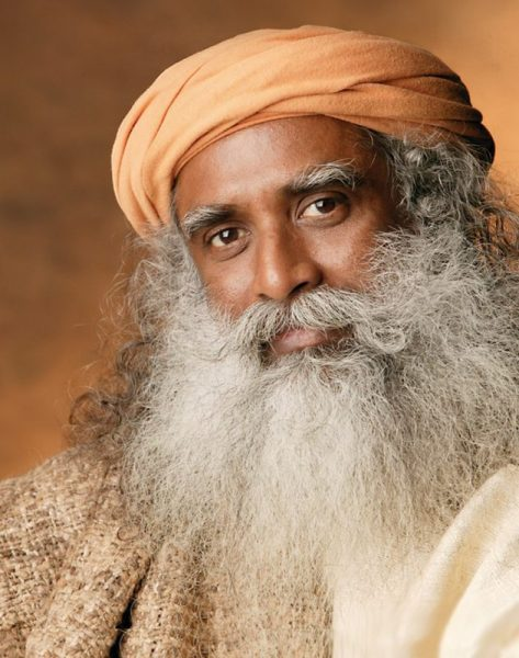 Photo of Sadhguru Jaggi Vasudev.