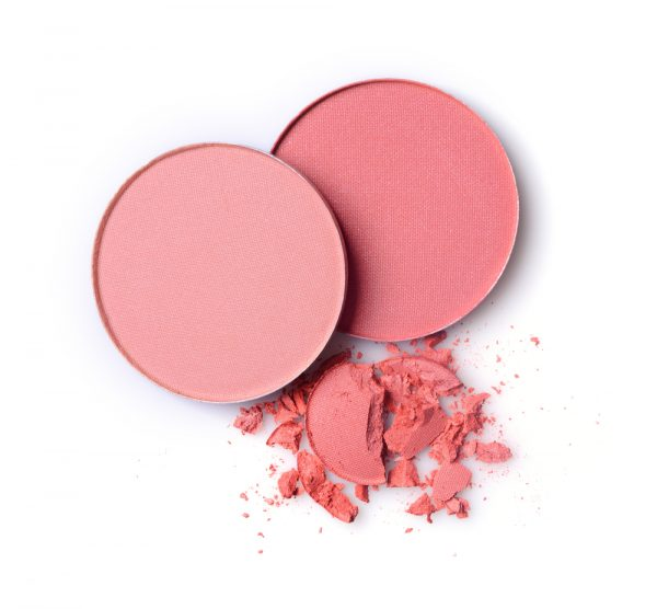Pink blush makeup - pink is expected to be a top makeup trend in 2020.