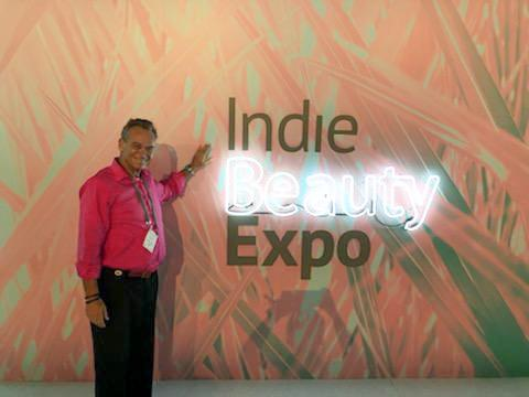 Adam representing Intoxicating Beauty at IBE 2019 in New York.